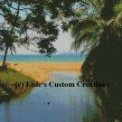 Beach At Tioman 1 - PDF Cross Stitch Pattern
