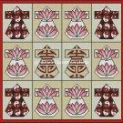 Full Size Quilt Kimonos Squared - PDF Cross Stitch Pattern