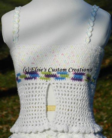 Summer Tank Top - PDF Crochet Pattern
