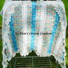 Mock Broomstick Hairpin Lace Afghan - PDF Hairpin Lace Pattern