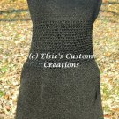 Little Black Crocheted Dress - PDF Crochet Pattern