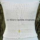 Summer Lace Strapless Top - PDF Crochet Pattern