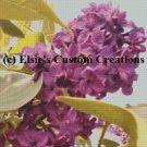 Elsie's Lilacs 3 - PDF Cross Stitch Pattern