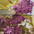 Elsie's Lilacs 2 - PDF Cross Stitch Pattern