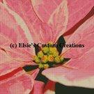 Poinsettia Flowers 6 - PDF Cross Stitch Pattern