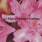 Rhododendron 4 - PDF Cross Stitch Pattern