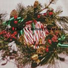 Merry Christmas Wreath 2 - PDF Cross Stitch Pattern