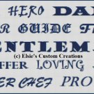 Father's Day - PDF Cross Stitch Pattern