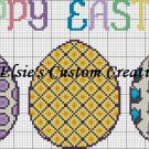 Happy Easter - PDF Cross Stitch Pattern