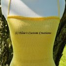 Summer Halter Top - PDF Knitting Pattern
