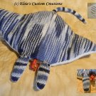 Manny The Manta Ray - PDF Knitting Pattern