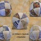 Patchwork Beach Ball - PDF Knitting Pattern