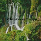Balkans Plitvice Waterfall 2 - PDF Cross Stitch Pattern
