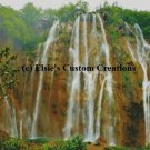Balkans Plitvice Waterfall 4 - PDF Cross Stitch Pattern
