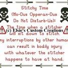 Stitchy Time 2 - PDF Cross Stitch Pattern