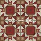 4 Block Quilt King David's Crown - PDF Cross Stitch Pattern
