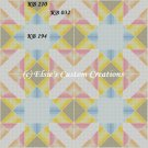 4 Block Quilt Ohio Snowflake - PDF Cross Stitch Pattern