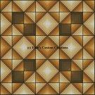 4 Block Quilt Chisholm Trail 1 - PDF Cross Stitch Pattern