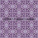 9 Block Quilt 8 Point Star 1 - PDF Cross Stitch Pattern