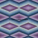 Bargello Quilt 1 - PDF Cross Stitch Pattern