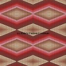 Bargello Quilt 2 - PDF Cross Stitch Pattern
