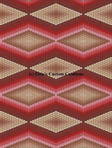 Bargello Quilt 2 - PDF Cross Stitch Pattern