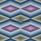 Bargello Quilt 4 - PDF Cross Stitch Pattern