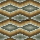 Bargello Quilt 5 - PDF Cross Stitch Pattern