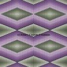 Bargello Quilt 6 - PDF Cross Stitch Pattern