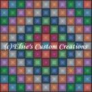 Full Size Quilt Around The World - PDF Cross Stitch Pattern