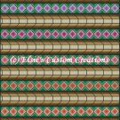 Full Size Quilt Peaks And Valleys - PDF Cross Stitch Pattern