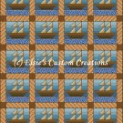 Full Size Quilt Ships And Sails - PDF Cross Stitch Pattern