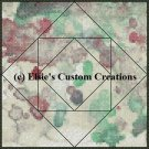 Watercolor Quilt Block 2 - PDF Cross Stitch Pattern