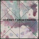 Watercolor Quilt Block 3 - PDF Cross Stitch Pattern