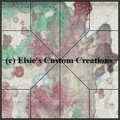 Watercolor Quilt Block 4 - PDF Cross Stitch Pattern