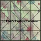 Watercolor Quilt Block 6 - PDF Cross Stitch Pattern