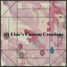 Watercolor Quilt Block 7 - PDF Cross Stitch Pattern