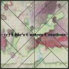 Watercolor Quilt Block 8 - PDF Cross Stitch Pattern