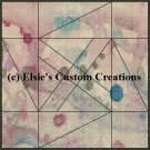 Watercolor Quilt Block 19 - PDF Cross Stitch Pattern