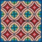 Full Size Quilt Diamond Stars - PDF Cross Stitch Pattern