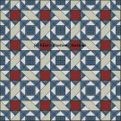 Full Size Quilt Aunt Dinah's China - PDF Cross Stitch Pattern