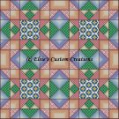 Full Size Quilt Best of All Picnics - PDF Cross Stitch Pattern