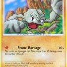 Pokemon Platinum Arceus Common Card Geodude 65/99