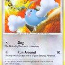 Pokemon Platinum Common Card Swablu 97/127