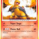 Pokemon Platinum Common Card Torkoal 100/127