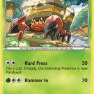 Pokemon Legendary Treasures Uncommon Card Crustle 14/113