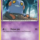 Pokemon Legendary Treasures Common Card Croagunk 62/113
