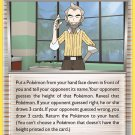 Pokemon Legendary Treasures Uncommon Card Cedric Juniper 110/113