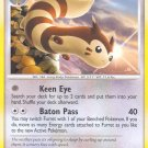 Pokemon Secret Wonders Rare Card Furret 27/132