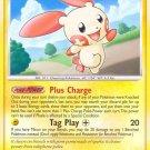 Pokemon Secret Wonders Rare Card Plusle 36/132